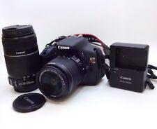 Canon Rebel T3i EOS 600D Digital SLR Camera - 18-55mm + 70-300mm lens + Bag #125