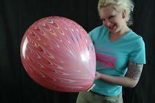 """1 x Suzuki Peacock 18"""" Riesenluftballon MARBLE*MARMORIERT*AGATE*"""