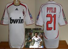 A.C.MILAN 2006/07 away football shirt PIRLO adults Italy soccer jersey USED