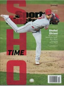 Sports Illustrated October 2021 - Shohei Ohtani Los Angeles Angels The Pitcher
