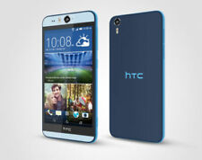 Teléfonos móviles libres HTC color principal azul con conexión 4G