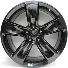 20 inch GENUINE JEEP GRAND CHEROKEE SRT 2016 Mod CUSTOM GLOSS BLACK Alloy Wheels