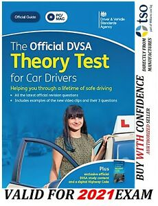 The Official DVSA Theory Test for 2021 Car Drivers PC DVD ROM PC MAC*ThryDvd