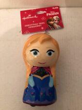 Disney Frozen Anna Decoupage Hallmark Holiday Christmas Ornament - NEW!