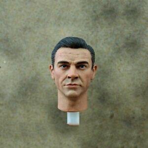 1/6 Scale James Bond Sean Connery Male Head Sculpt Model Fit 12'' Figure Dolls