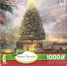 Ceaco Thomas Kinkade Christmas in New York 1000 piece puzzle