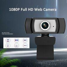 1080P Full HD Webcam Web Cam Kamera mit Mikrofon für Computer PC Laptop Desktop