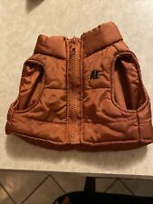 """AE Performance For Plush Dog Hoodie Red Vest 14"""" American Eagle"""