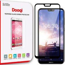 2X For Nokia 6.1 Plus (Nokia X6) Full Cover Tempered Glass Screen Protector
