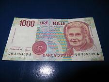 Banconota 1000 lire Maria Montessori Italia