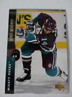 1994-95 Upper Deck #166 Joe Sacco Mighty Ducks Hockey Error Wrong Name Card
