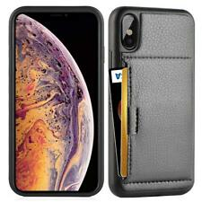 Wallet Case For iPhone Xs Max with Credit Card Holder Slot Slim Leather Pocket