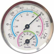 Outdoor Thermometers Indoor Weather Small Analog Thermometer With Humidity Gauge