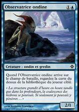 ▼▲▼ 4x Observatrice ondine (Merfolk Observer) ELDRAZI #008 FRENCH MTG