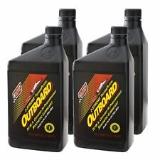 Klotz Outboard TechniPlate Oil - 2-Stroke Oil - 32oz - 4 Quarts / 1 Gallon
