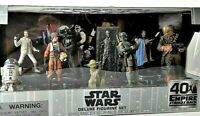 Disney Star Wars The Empire Strikes Back 40th Anniversary Deluxe Figurine Set