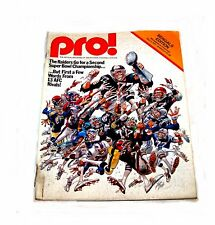 Cincinnati Bengals NFL Football Pro Magazine Program Vikings VG Ticket Reds Ofr