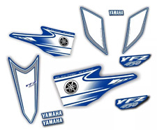 Decals graphic stickers yamaha yfz450 carburator blue