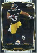 TOPPS Chrome Football 2014 veterano CARD #30 - Troy Polamalu Pittsburgh Steelers