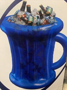 Large Inflatable Beer Cooler ice Bucket Drinks Holder Party BBQ Summer Dad Gift