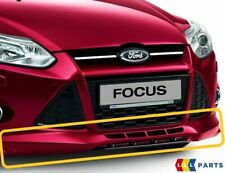 NEW GENUINE FORD FOCUS 11-15 FRONT BUMPER SPOILER WITH GLOSS BLACK EXTENSION