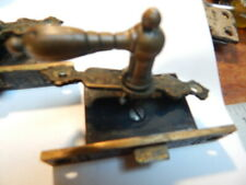 4 Antique Eastlake Cabinet Latches