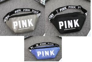 US stock brand  new pink fashion multicolor belted waist pouch fanny pack
