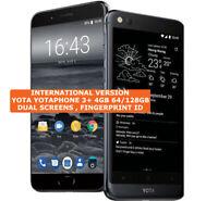 """YOTA YOTAPHONE 3 PLUS 64/128gb YOTA 3+ 5.5"""" Dual Screen Android 8 Smartphone"""