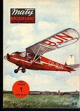 Mały Modelarz 1983/01 Samolot turystyczny RDW-13