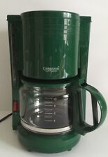 KRUPS Coffee Maker & Carafe Gevalia Connoisseur Model GM-610G Green 10 Cup
