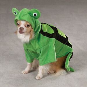 Zack & Zoey Turtle Dog Costume Low Belly Cut Polyfil-Stuffed Easy-On Easy-Off