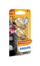 COPPIA Lampada Lampadina Luce PHILIPS (T20) W21W 12V W3x16d DOPPIO FILAMENTO
