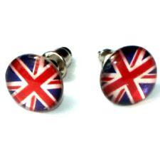Boucles d'oreilles - drapeau Anglais - Royaume-Uni - Union Jack earrings