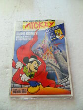 Le Journal De Mickey 2051.Hachette 1991+ pin's Pré-ouverture Euro Disney- Neuf