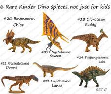 PNSO 6 rare kinder Dinosaurs Figures kids education set C model Einiosaurus