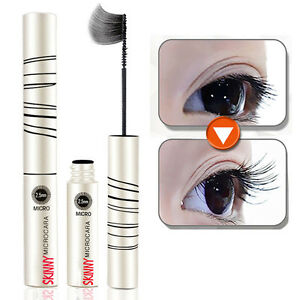Waterproof Skinny Mascara Long Curling Extension Length EyeLashes Black Cosmetic