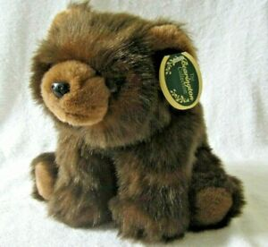 """The Bearington Collection Plush """"Baby Ben"""" Brown Bear Style 2055S - New w/Tag"""