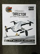 Protocol Director Foldable Drone With Live Streaming Camera