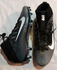 NIKE VAPOR UNTOUCHABLE 2 FOOTBALL CLEATS SIZE 12 BLACK/GREY/WHT 824470 001 NEW