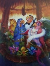 """12x18"""" Tokyo Disneyland Enchanted Tiki room now playing get the fever poster"""