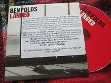 Ben Folds – Landed Label: Epic – BEN001 Promo sticker UK CD Single
