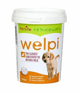 Petlife Welpi, dried milk powder for puppies & adult convalescent dogs 250gm