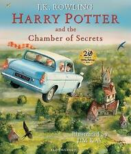 Harry Potter and the Chamber of Secrets: Illustrated Edition by J. K. Rowling (Hardback, 2016)