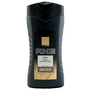 Axe Shower Gold 1 X 250ml Body Wash -swag Fresh- Oud Wood & Fresh Vanilla Scent
