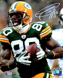 Packers SB Champ DONALD DRIVER Signed 8x10 Photo #19 AUTO  - Career Leader