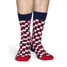 Happy Socks imbottito OTTICA Calzini - Rosso