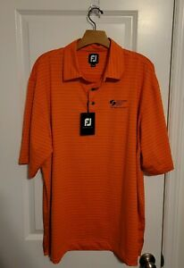 NWT FOOTJOY MENS SHORT SLEEVE GOLF POLO SHIRT WITH LOGO Sz XL *D
