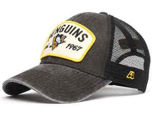 "Pittsburgh Penguins ""Vintage"" NHL trucker hat cap"