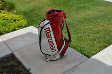 "Vintage Maruman 10"" Staff Cart Golf Bag"