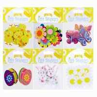 Easter Felt Stickers 8 Pack NEW 6 Designs